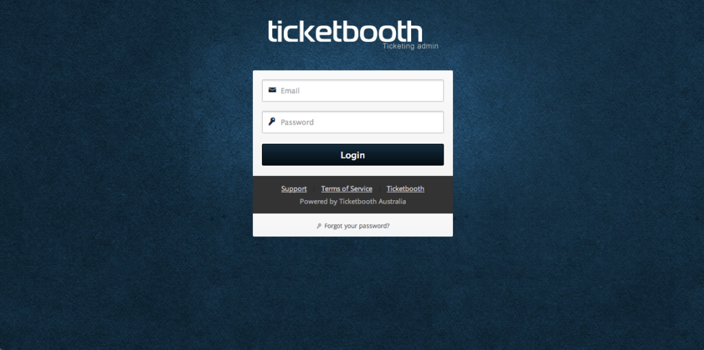 Ticketbooth Admin